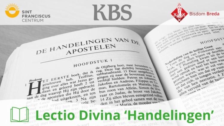 CURSUS LECTIO DIVINA 'HANDELINGEN'. BISDOM BREDA